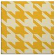 rug #405193 | square yellow retro rug
