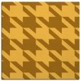 rug #405209 | square yellow retro rug