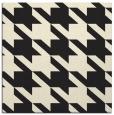 rug #405213   square black retro rug