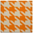 rug #405221 | square orange retro rug