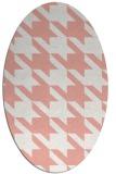rug #405478 | oval retro rug