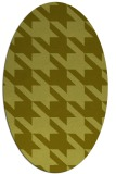 rug #405577 | oval light-green rug