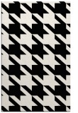rug #405613    black retro rug