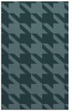 rug #405681 |  blue-green retro rug