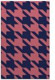 rug #405701 |  blue-violet retro rug