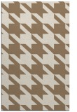 rug #405761 |  mid-brown retro rug
