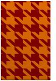 rug #405797 |  orange retro rug