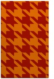 rug #405853 |  red retro rug