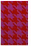 rug #405861 |  pink retro rug