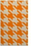 rug #405925 |  orange retro rug
