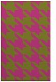 rug #405937 |  pink retro rug