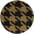 rug #405981 | round brown rug