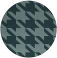 rug #406036 | round retro rug