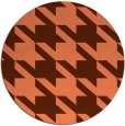 rug #406161 | round orange rug