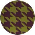 rug #406189 | round purple retro rug