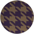 rug #406193 | round purple retro rug