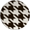 rug #406257 | round brown popular rug