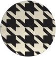 rug #406269   round black retro rug