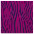 rug #406693 | square blue stripes rug