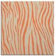 rug #406861 | square beige animal rug