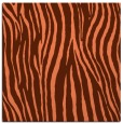 rug #406865 | square orange animal rug