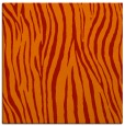 rug #406909 | square orange stripes rug