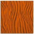 rug #406929 | square red-orange animal rug