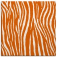 rug #406933 | square red-orange animal rug