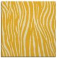 rug #406953 | square yellow animal rug