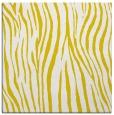 rug #406965 | square yellow animal rug