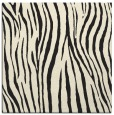 rug #406973 | square black stripes rug