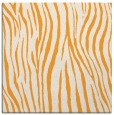 rug #407013 | square light-orange animal rug