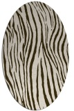 rug #407171 | oval stripes rug