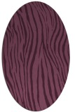 rug #407176 | oval stripes rug
