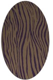 rug #407249 | oval purple popular rug