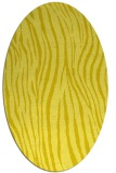 rug #407296 | oval stripes rug