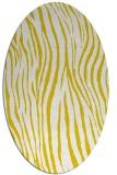 rug #407317 | oval white popular rug