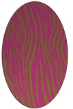 rug #407345 | oval light-green popular rug