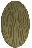 rug #407349 | oval light-green rug