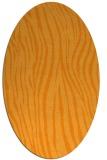 rug #407361 | oval light-orange animal rug