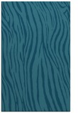 rug #407417 |  blue-green animal rug