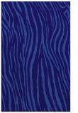 rug #407473    blue-violet animal rug