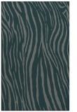 rug #407497 |  blue-green stripes rug