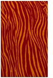 rug #407557 |  orange stripes rug