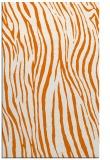 rug #407561 |  orange stripes rug