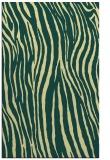 rug #407573 |  yellow stripes rug