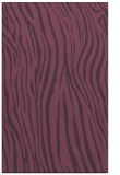 rug #407593 |  purple stripes rug