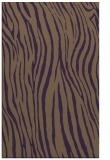 rug #407601 |  mid-brown stripes rug