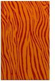 rug #407613 |  orange animal rug