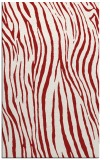 rug #407617 |  red stripes rug